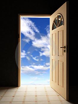 Amazing Door In The Sky