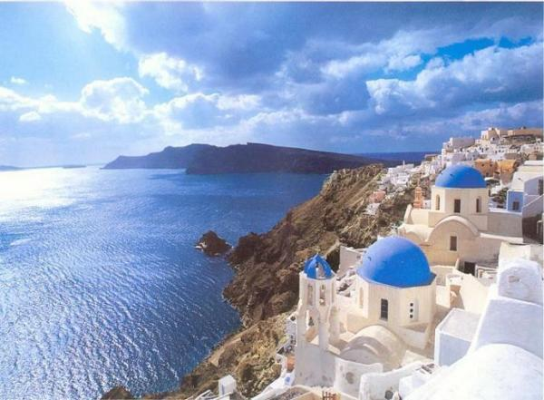 to visit Greece, Santorini