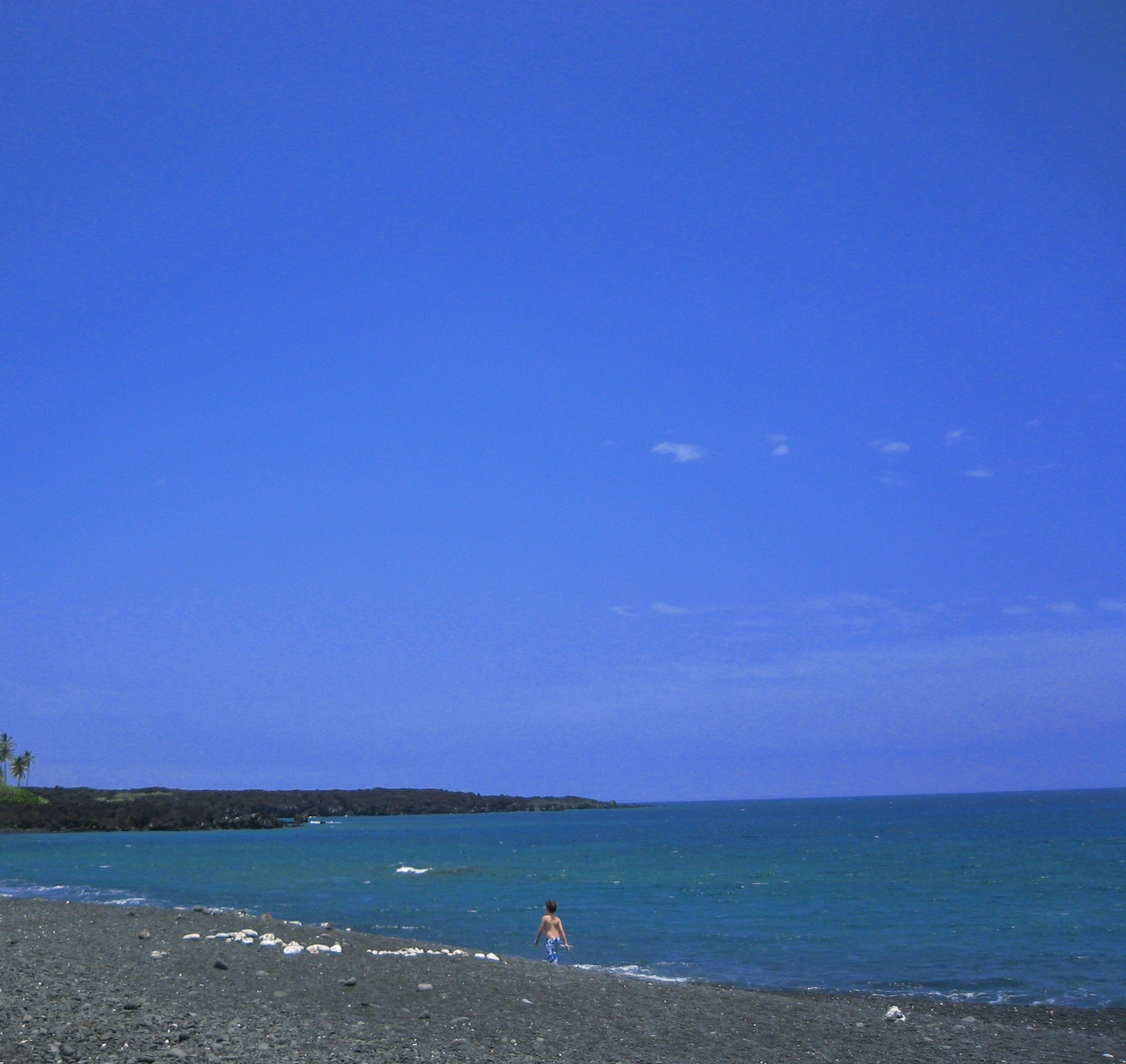 Big Island Beaches: Big Island Beaches, Very Difficult To Be Uptight In A